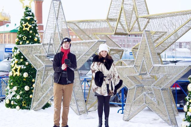 Артем Ксюша новый год